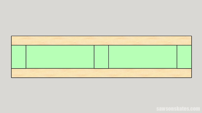 Make a Door with Pocket Holes - assemble the doors