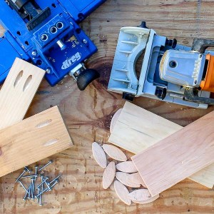 Kreg Jig vs Biscuit Joiner what are the difference between pocket holes and biscuit joints?
