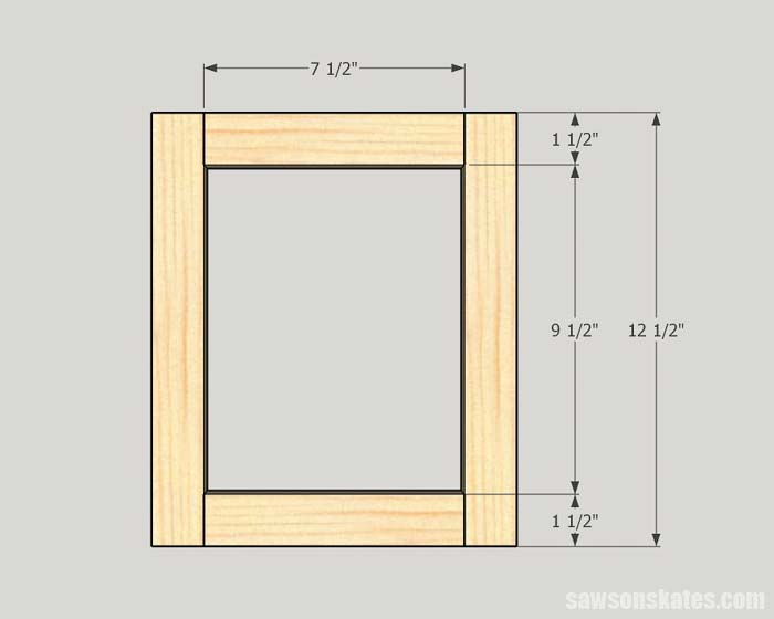 These free plans make custom size frames for small and large photos