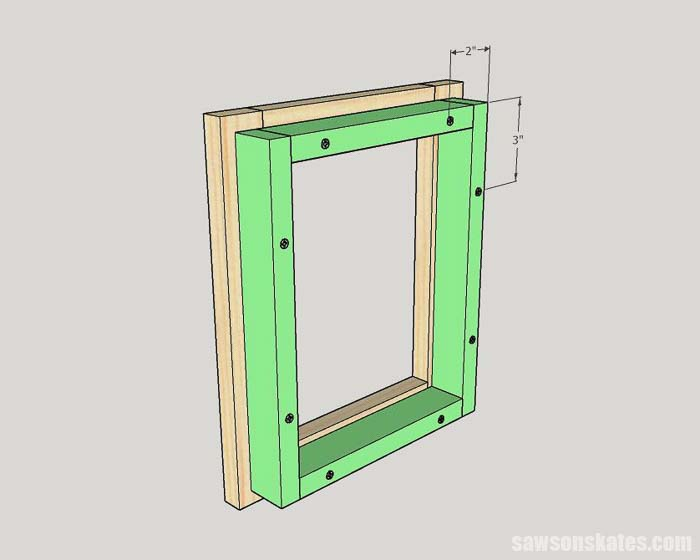 Attaching the back on the cheap custom picture frames