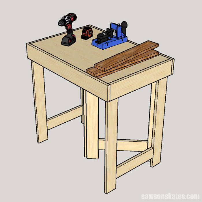 6 DIY Workbench Ideas for a Small Workshop (Plans) | Saws on ... Workbench Diy Home Design Ideas on diy wire ideas, diy lockers ideas, diy bicycle ideas, diy cupboard ideas, diy theme ideas, diy lights ideas, diy garage ideas, diy bucket ideas, diy workbench on wheels, diy workbench plans, diy garage workbench, diy hardware ideas, diy workbench organization, homemade tool storage ideas, diy workbench vise, diy wood workbench, workshop ideas, diy workbench drawings, diy build a workbench, diy sand ideas,