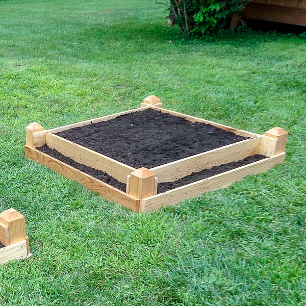 DIY Tiered Raised Garden Bed Plans (Free PDF) | Saws on ...