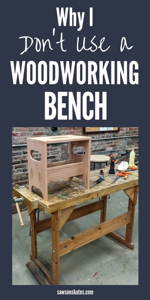 Superb 3 Reasons Why I Dont Use A Woodworking Bench What I Use Onthecornerstone Fun Painted Chair Ideas Images Onthecornerstoneorg