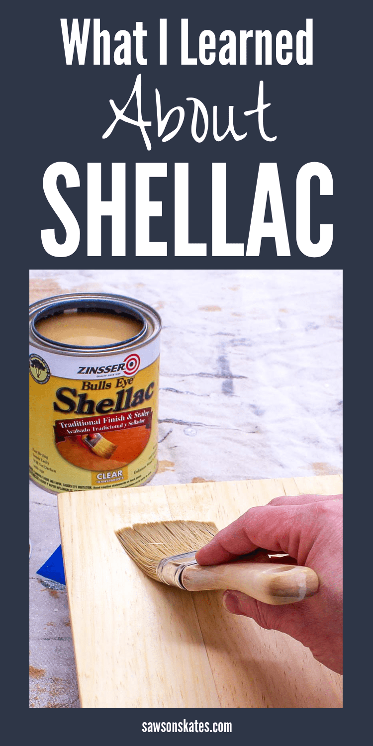 I need to try a shellac finish! I'm always looking for finishing ideas for my woodworking projects. I just found this article loaded with tips about using shellac. I learned that it's natural, comes in different colors and can be used over stains. It's easy to apply, dries quickly and more! Definitely going to try this wood finish! #diy #diyfurniture #woodworking #woodworkingtips #diywoodprojects #woodfinish