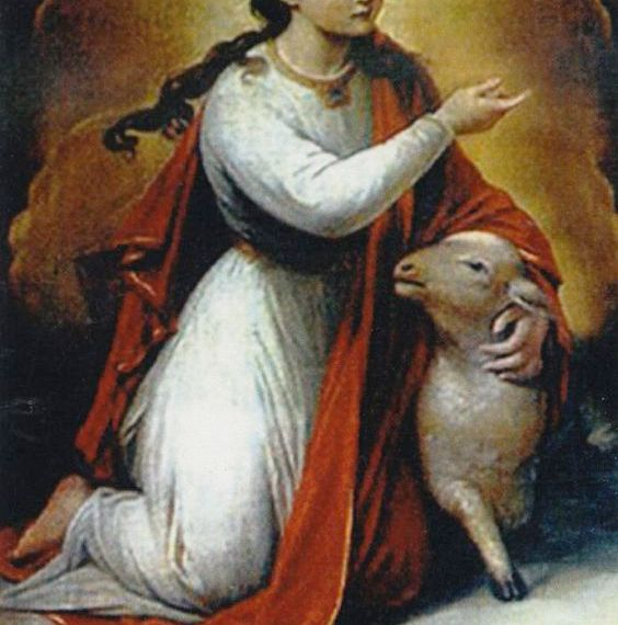Saint Agnes of Rome, Virgin and Martyr