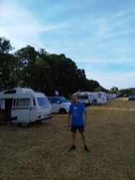 Gavin at a festival in Portsmouth