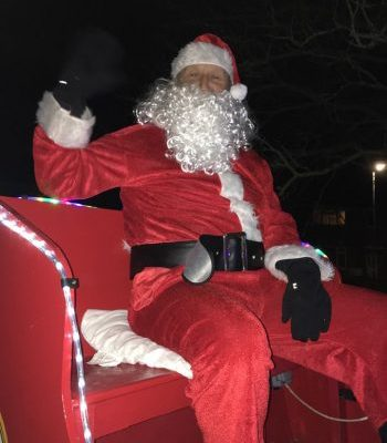 Santa came to Sawtry