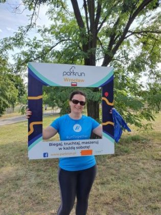 Tara parkrun tourism in Poland!