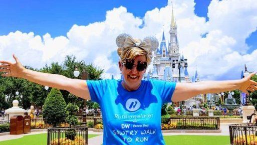 Suzanne in Disneyland!