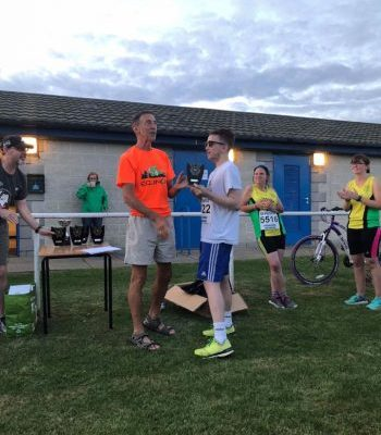 Archie finished first at the Eye 5k handicap