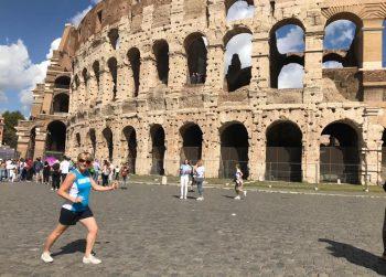 Emily in Rome