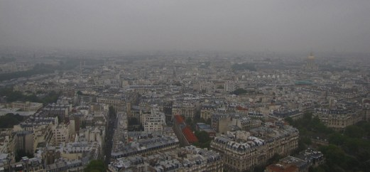 View from Effiel Tower