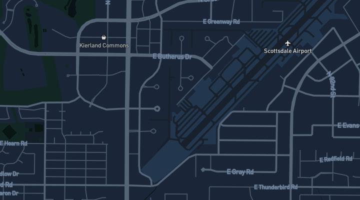 Sawyer Flight Academy Map