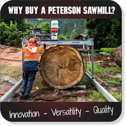 Peterson Portable Sawmills For Sale - Sawyer's Choice