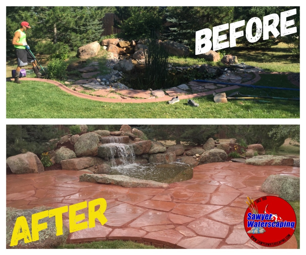 Before and After Pond