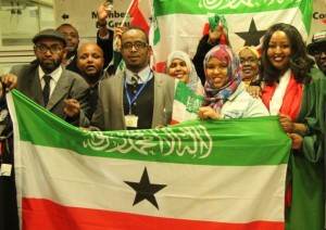 Somaliland supporters after Tower Hamlets 'recognition' vote