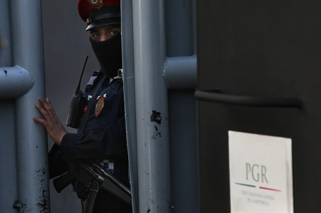 Mexico's federal police commissioner says his force has arrested a principle operator of a drug cartel in western Jalisco state that is the country's fastest growing international criminal organization.
