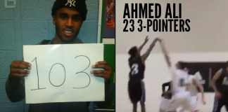 Somali-Canadian Guard Ahmed Ali Makes History, Drops 103 Points In High School Game