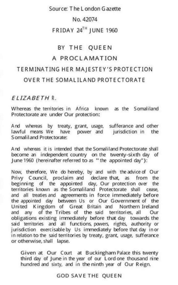 The Unjustified Opposition Of Africa To Somaliland Recognition