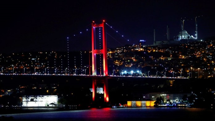 The Bosphorus Bridge is one of the two major bridges, which links Istanbul's European and Asian sides [Reuters]