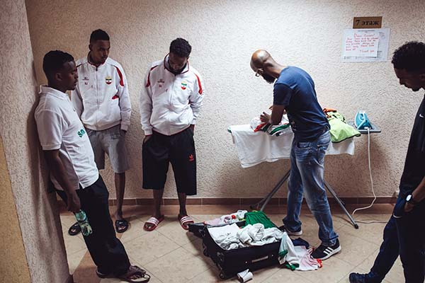 Somaliland Team at the World Cup of Unrecognized States 2016. ©Max Avdeev