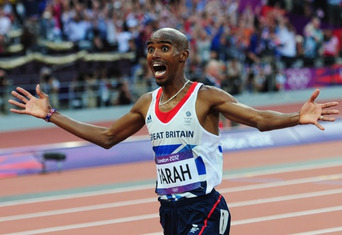Mohamed Farah emerged as a national hero during London 2012Getty Images