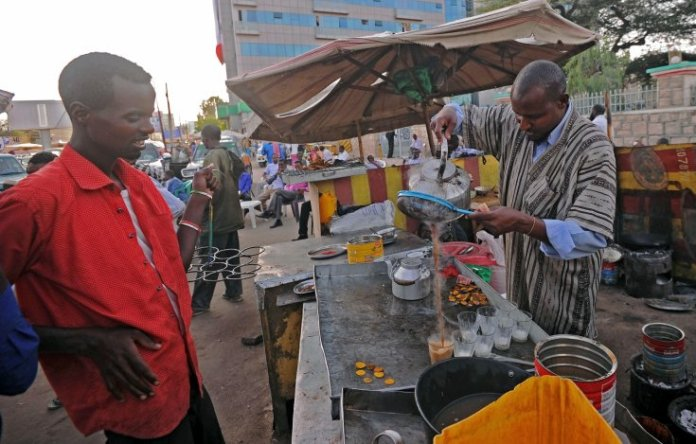 A market stall in Hargeisa, the main city in the republic of Somaliland MOHAMED ABDIWAHAB/AFP/Getty Images