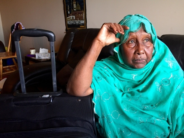 'If Somalia rejected him what is the plan?' asks Asili Gelle, who has had her son's bag packed for two years. (Andrea Huncar)