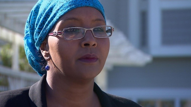 Family advocate Habiba Abdulle says if they send Abdikarim to Somalia he will die. (Sam Martin/CBC)