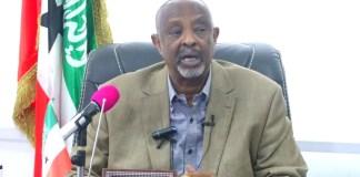 """""""Dhaqankan Somalia La Soo Baxdey Gaar Ahaan Maamulka Garoowe Waa Nin Daad Qaaday Xunbo Cuskay"""" Wasiirka Arrimaha Gudaha Somaliland"""