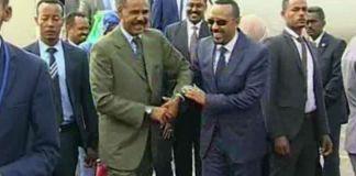 Madaxda Ethiopia Iyo Eritrea Oo Labaatan Sannadood Oo Dagaal Ah Kadib Ku Kulmay Asmara