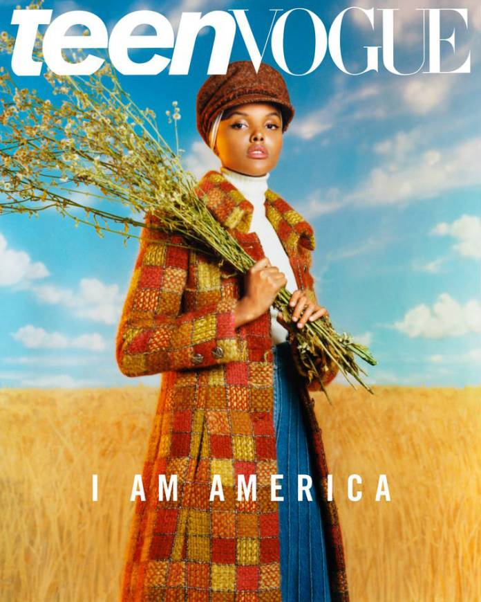 Halima Aden Returns To Kenya For TeenVogue's July Cover Story