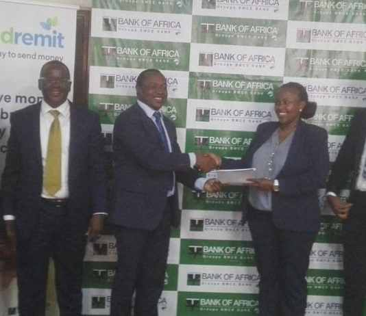 Bank Of Africa, World Remit Sign Partnership Agreement