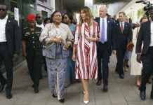 Melania Trump Visits Ghana, First Stop Of African Tour