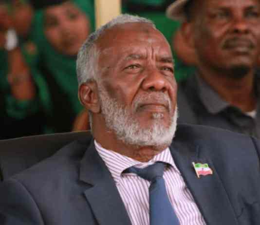 """Wasiirka Arrimaha Dibadda Somaliland: """"Ma Jiro Wada Hadal Rasmi Ah Oo Aanu Saldhigga RuushkaKa Yeelanay"""""""