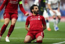 #UCLfinal: Mohamed Salah Is The First Egyptian To Score In A European Cup Final