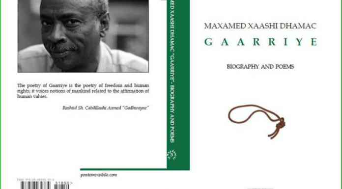 Rejecting The Stains Of Silence – A Review Of Maxamed Xaashi Dhamac 'Gaarriye': Biography And Poems