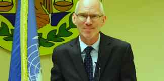UN Special Representative James Swan Speaks To The Press During Visit To Somaliland