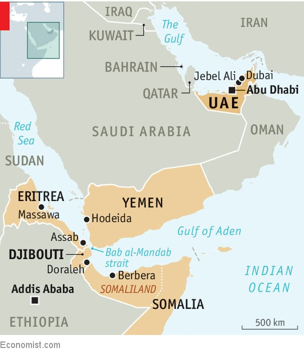 From Arabian Gulf To Horn Of Africa The Politics Of Port Infrastructures