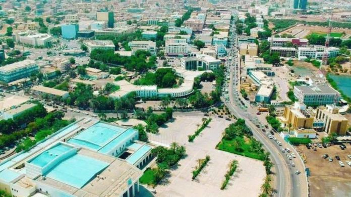 An Aerial View Of Djibouti City