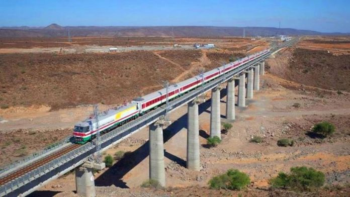 A Chinese Built Train Line In Djibouti