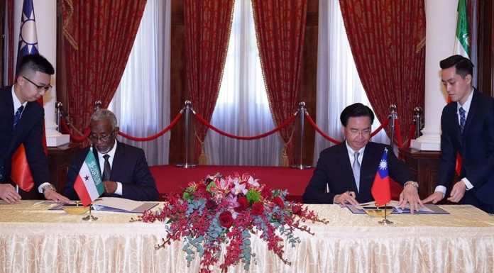 Is Taiwan Creating A Coalition Of Unrecognized States By Recognizing Somaliland