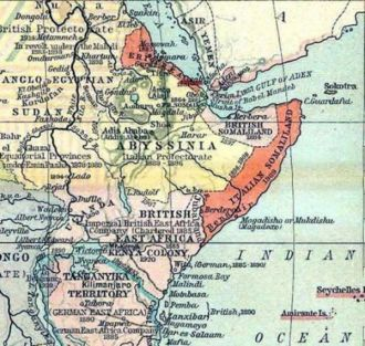 A map showing the strategic importance of Somaliland