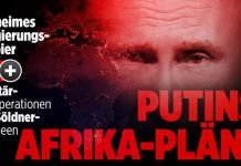 Russia Building Military Bases In Africa Secret German Government Paper