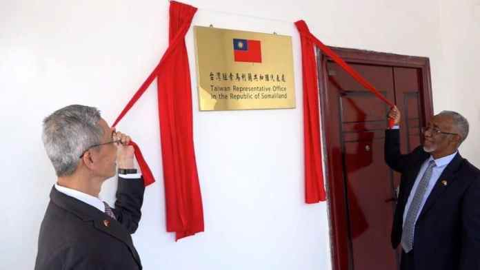 Taiwan Officially Opens Embassy In Somaliland Capital Hargeisa