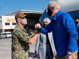 US Acting Defense Secretary Makes Rare Visit To Somalia