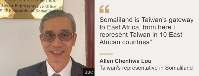 Somaliland and Taiwan 2 Countries With Few Friends But Each Other