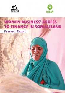 Women Business Access To Finance In Somaliland