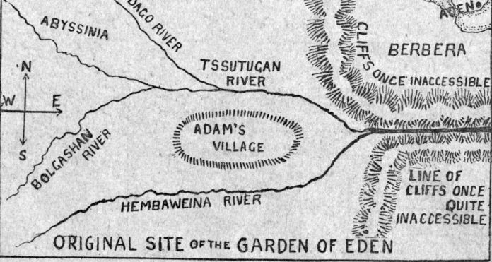 Garden Of Eden Found In Somaliland And Photographed