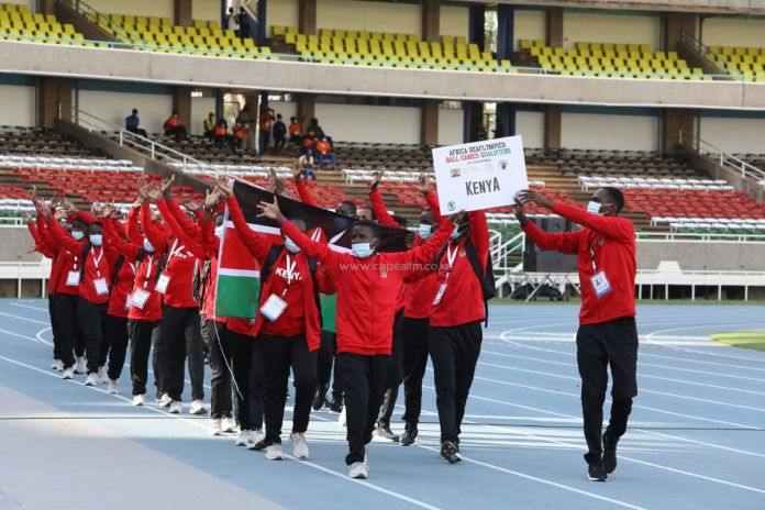 Somaliland Flag Carried At Africa Deaflympics Opening